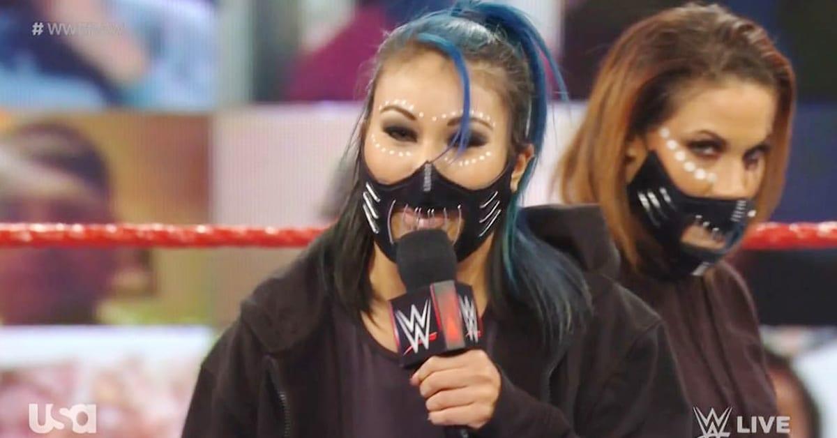 Mia Yim Mercedes Martinez RETRIBUTION Promo WWE RAW