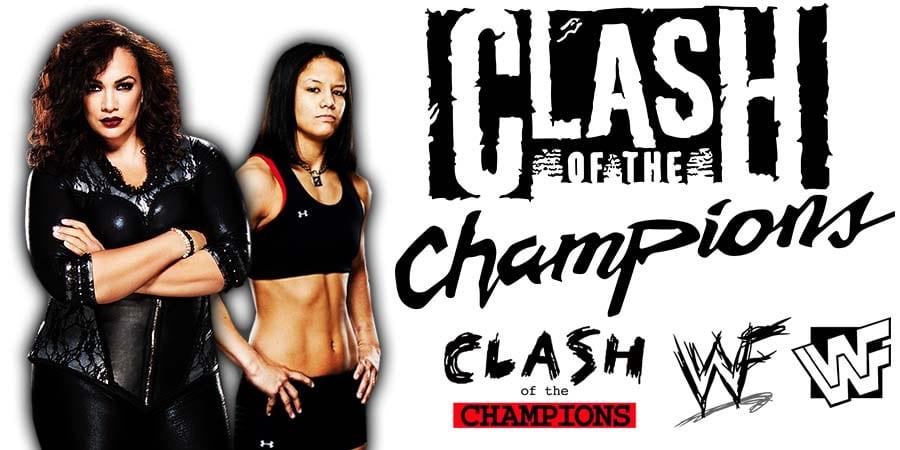 Nia Jax Shayna Baszler WWE Clash Of Champions 2020