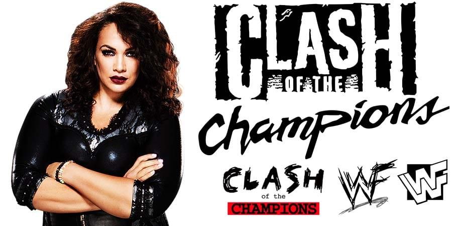 Nia Jax WWE Clash Of Champions 2020