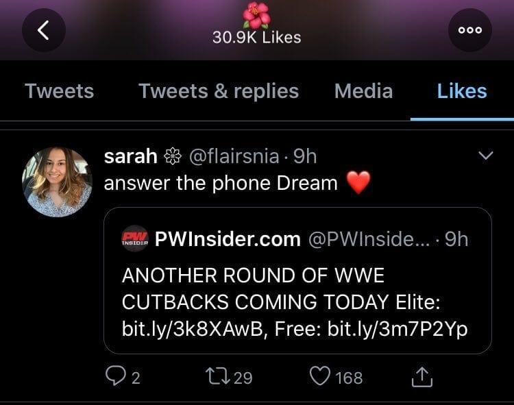 Nia Jax Wants WWE To Release Velveteen Dream