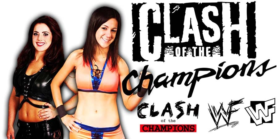 Nikki Cross vs Bayley - WWE Clash Of Champions 2020
