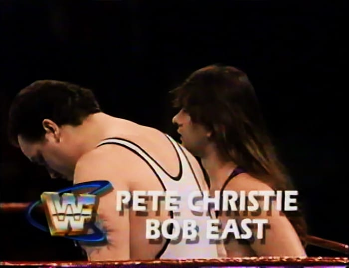 Pete Christie & Bob East WWF Tag Team