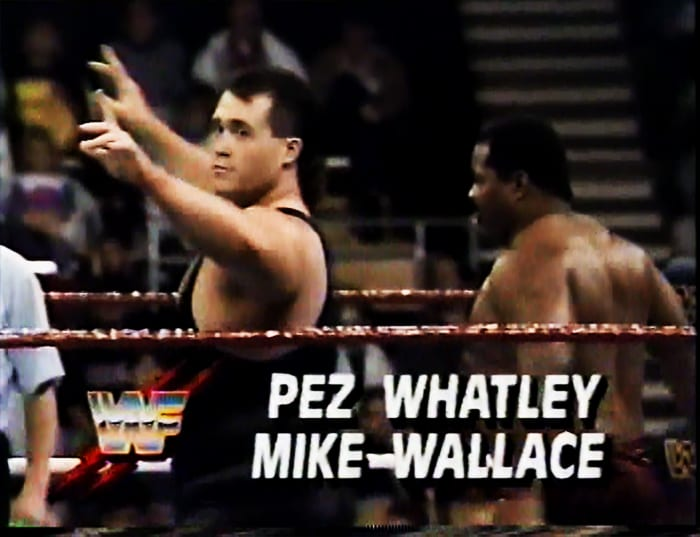 Pez Whatley & Mike Wallace WWF Tag Team