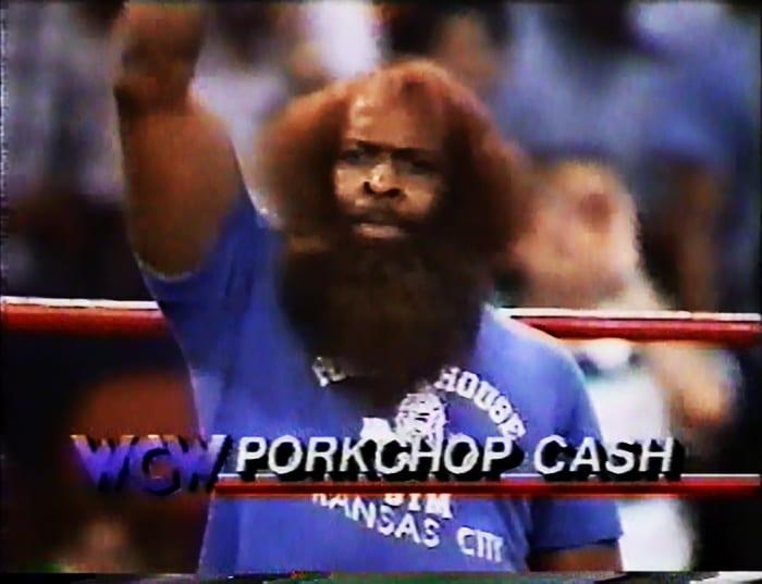 Porkchop Cash WCW Jobber