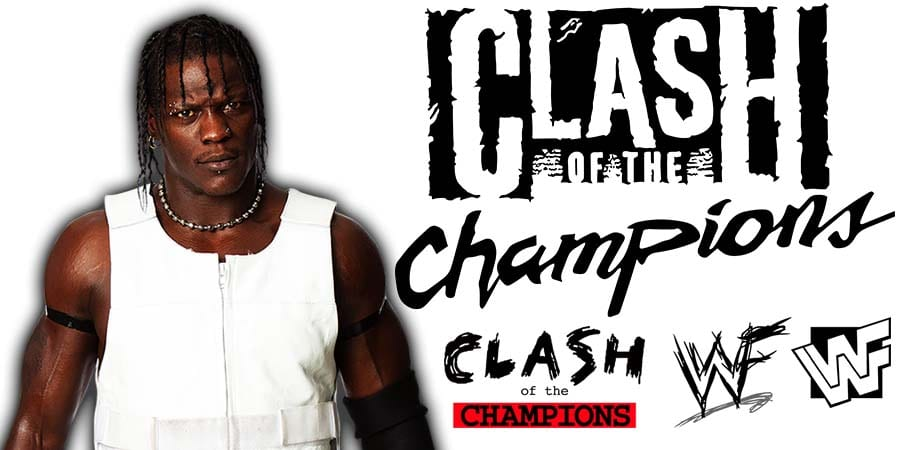 R-Truth WWE Clash Of Champions 2020