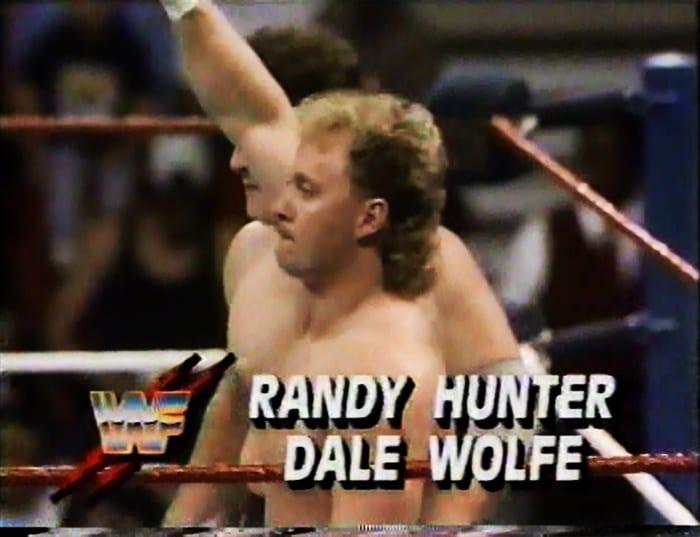 Randy Hunter & Dale Wolfe WWF Tag Team