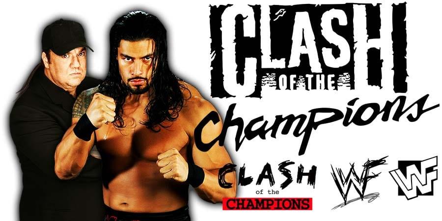 Roman Reigns & Paul Heyman WWE Clash Of Champions 2020