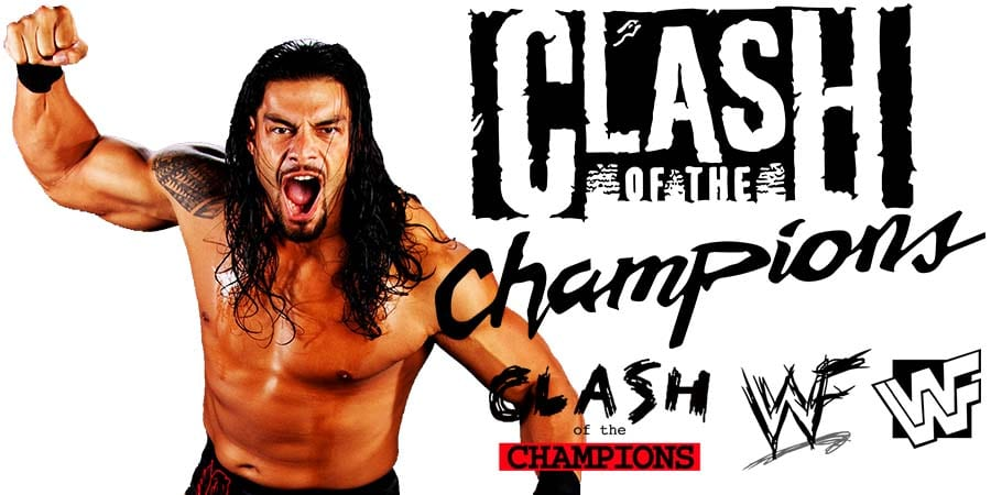 Roman Reigns Will Wrestle Shirtless At WWE Clash Of Champions 2020