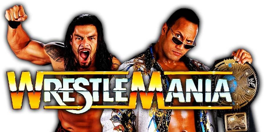 Roman Reigns vs The Rock - WWE WrestleMania 37
