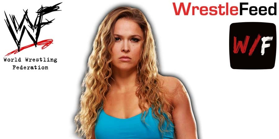 Rondy Rousey Article Pic 1 WrestleFeed App