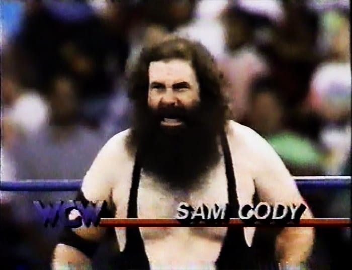 Sam Cody WCW Jobber