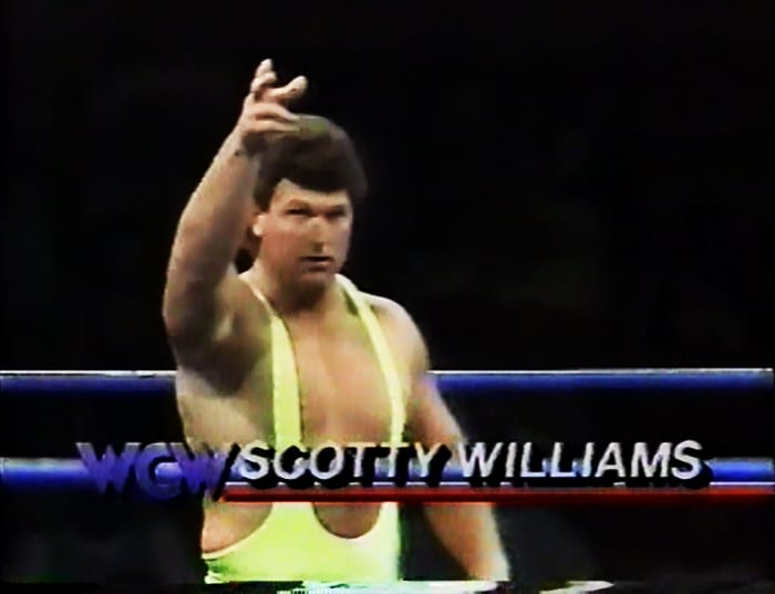 Scotty Williams WCW Jobber