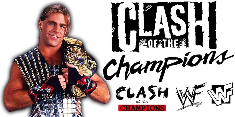Shawn Michaels WWE Clash Of Champions 2020