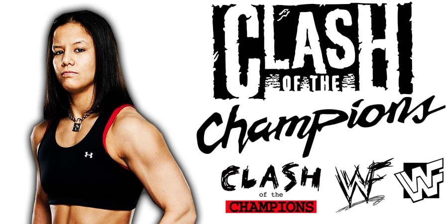 Shayna Baszler Pulled From WWE Clash Of Champions 2020