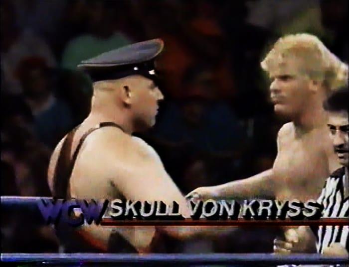 Skull Von Kryss WCW Jobber