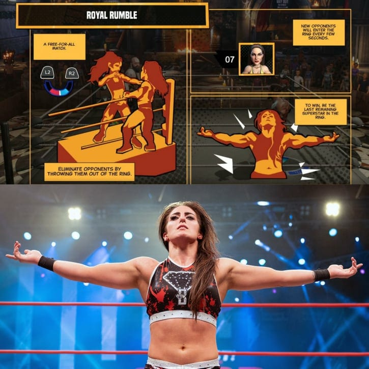 Tessa Blanchard Spotted In WWE 2K Battlegrounds
