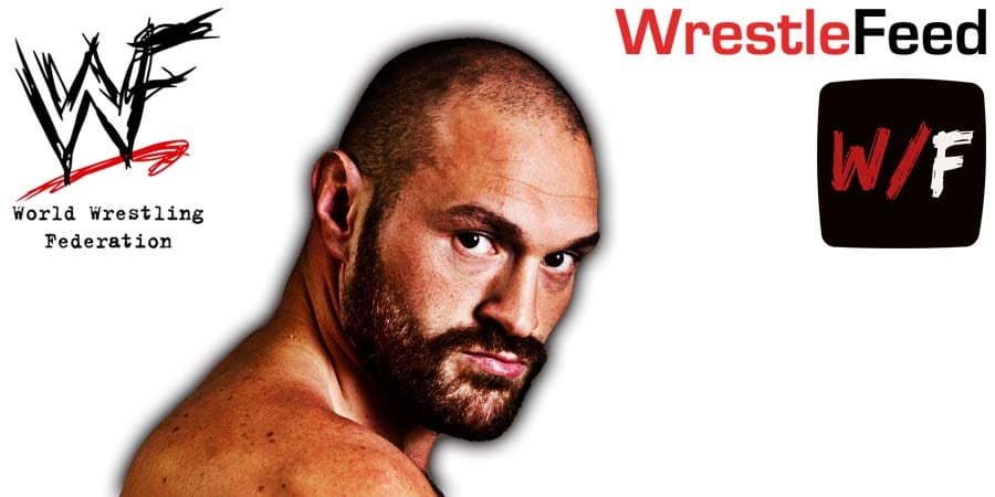Tyson Fury Article Pic 1 WrestleFeed App