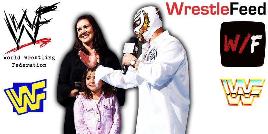 Aalyah Mysterio & Rey Mysterio - Family Article Pic 2 WrestleFeed App