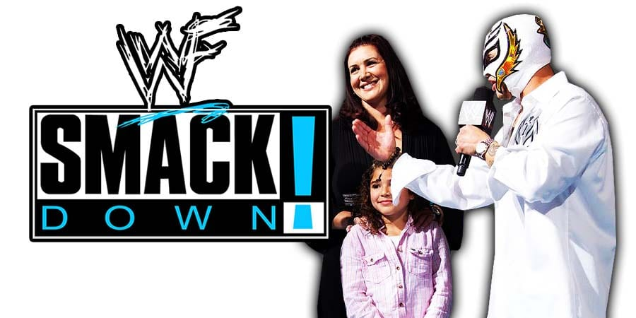 Aalyah Mysterio & Rey Mysterio Family SmackDown Article Pic 2