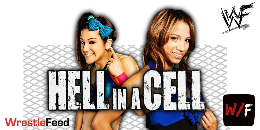 Bayley vs Sasha Banks - Hell In A Cell 2020 WrestleFeed App