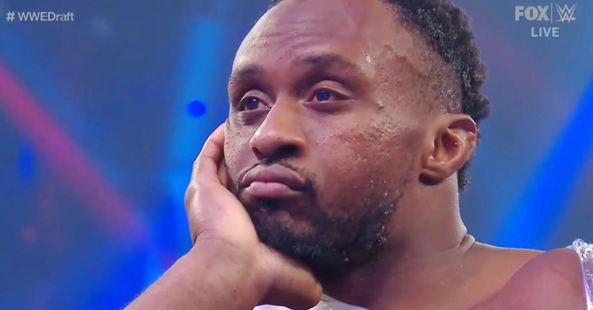 Big E Sad Disappointed WWE SmackDown Draft 2020