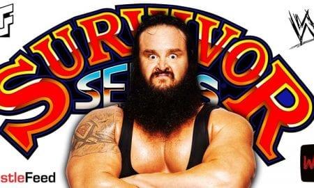 Braun Strowman WWE Survivor Series 2020 WrestleFeed App