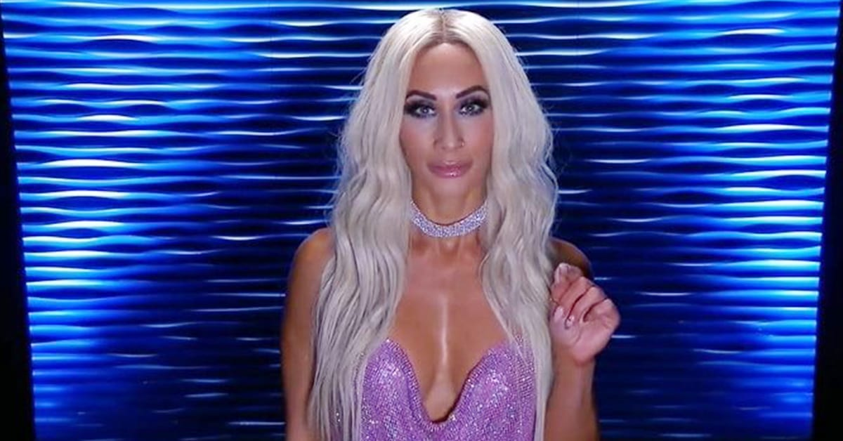 Carmella Revealed As Mystery Woman On SmackDown