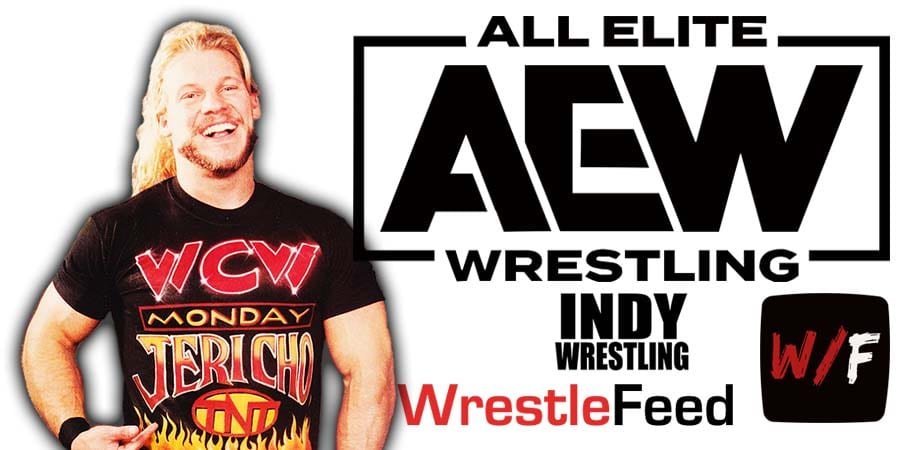 Chris Jericho AEW All Elite Wrestling Article Pic 1 WrestleFeed App