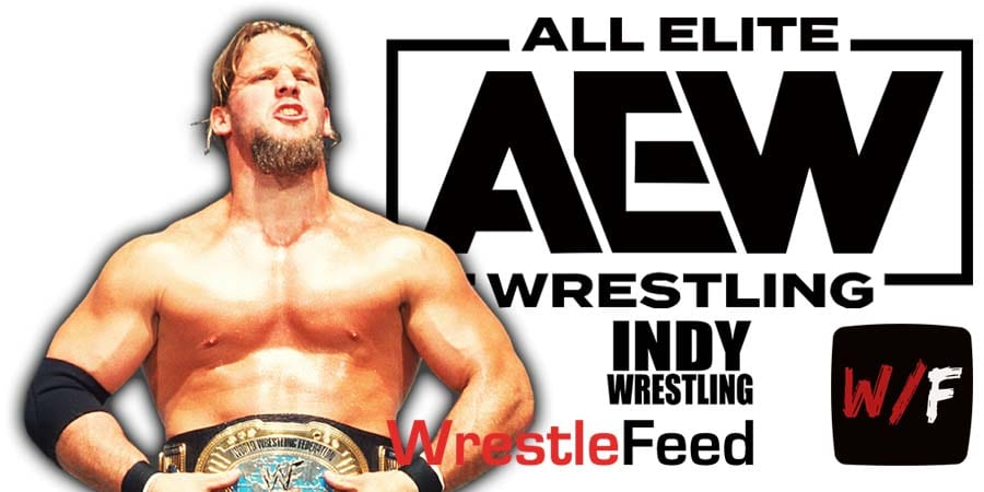 Chris Jericho AEW All Elite Wrestling Article Pic 3 WrestleFeed App