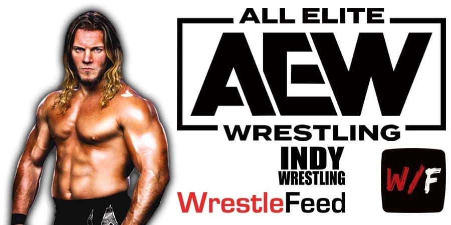 Chris Jericho AEW All Elite Wrestling Article Pic 4 WrestleFeed App