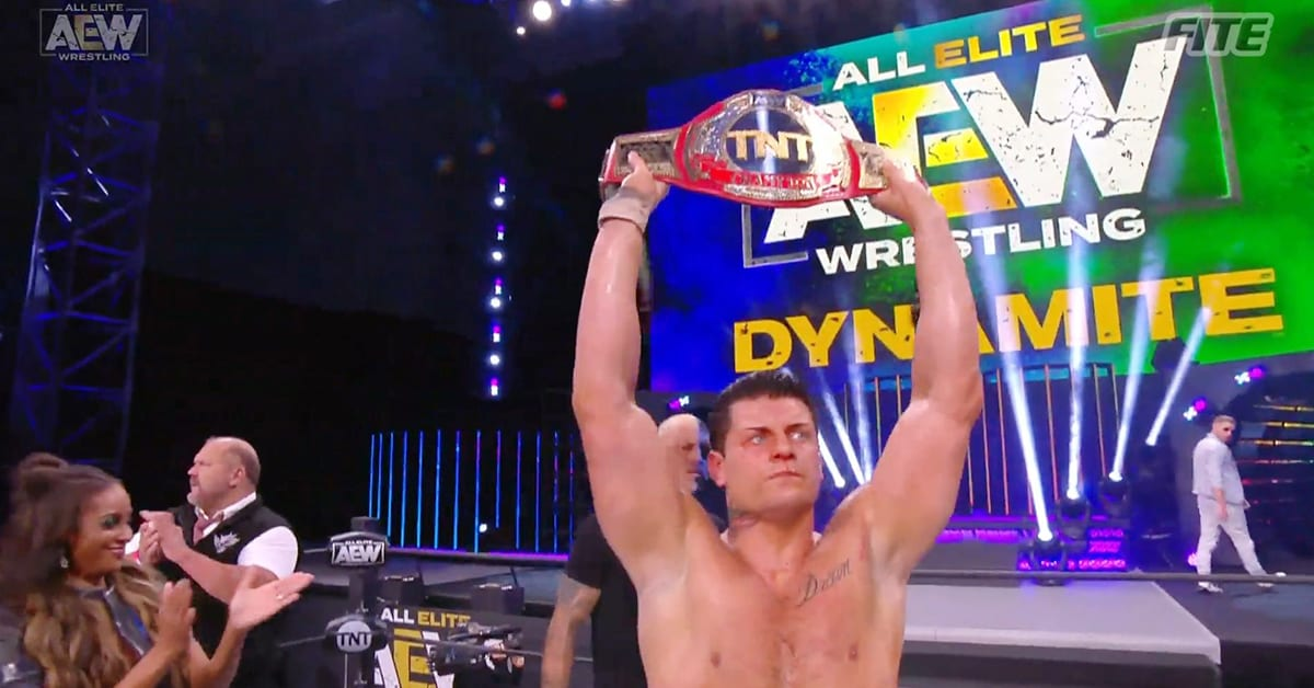 Cody Rhodes Becomes A 2 Time TNT Champion