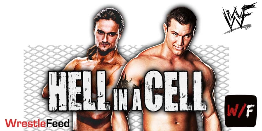 Drew McIntyre vs Randy Orton WWE Hell In A Cell WrestleFeed App