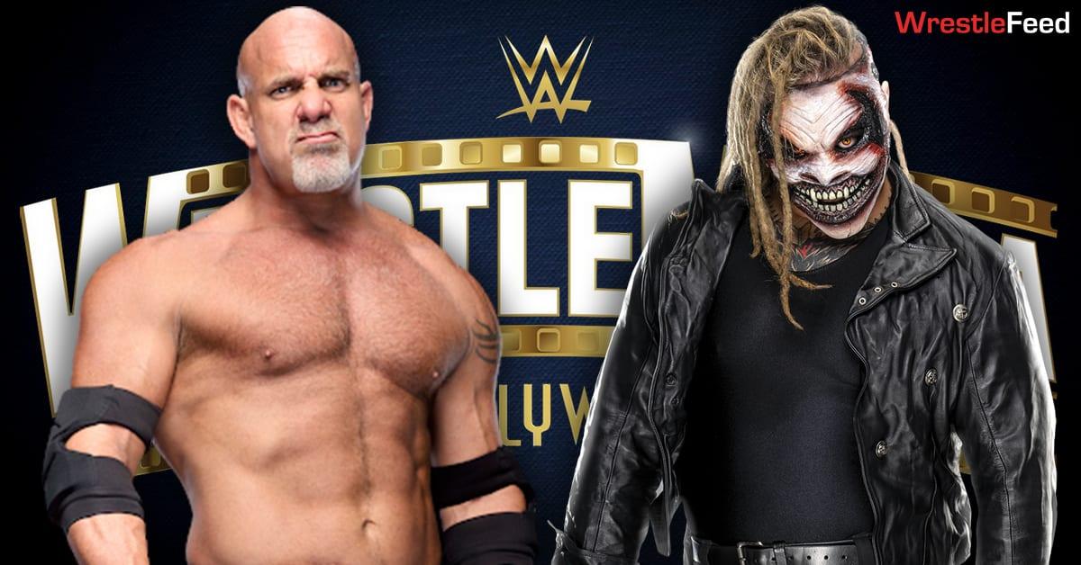 Goldberg vs The Fiend Bray Wyatt Match Graphic WrestleFeed App