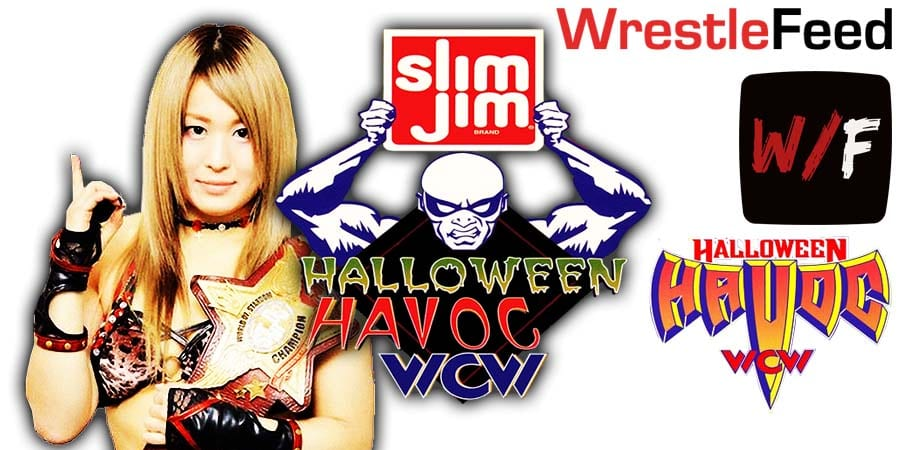 Io Shirai NXT Halloween Havoc WrestleFeed App