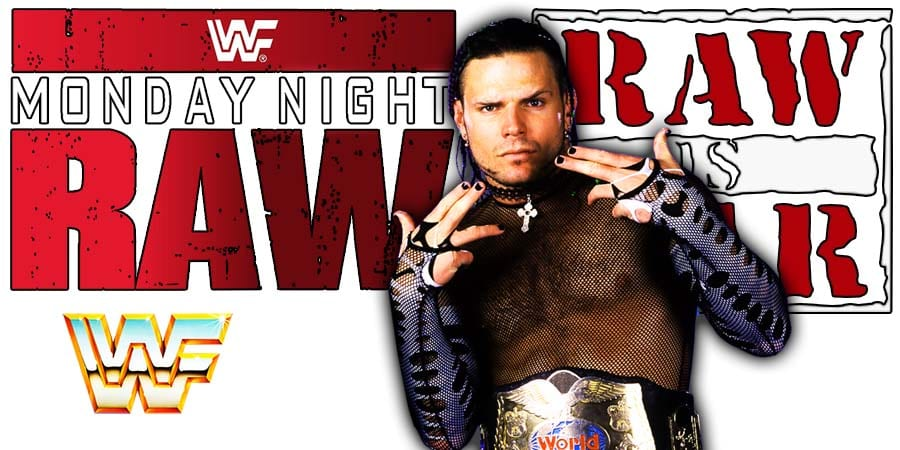 Jeff Hardy RAW Article Pic