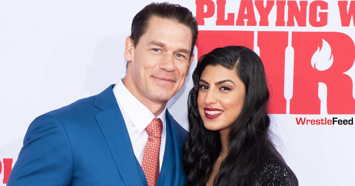 John Cena Marries Shay Shariatzadeh WrestleFeed App