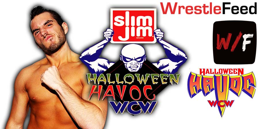 Johnny Gargano NXT Halloween Havoc WrestleFeed App