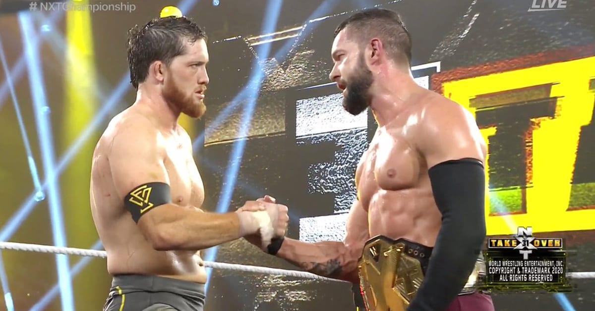 Kyle O'Reilly Finn Balor Show Respect NXT TakeOver 31