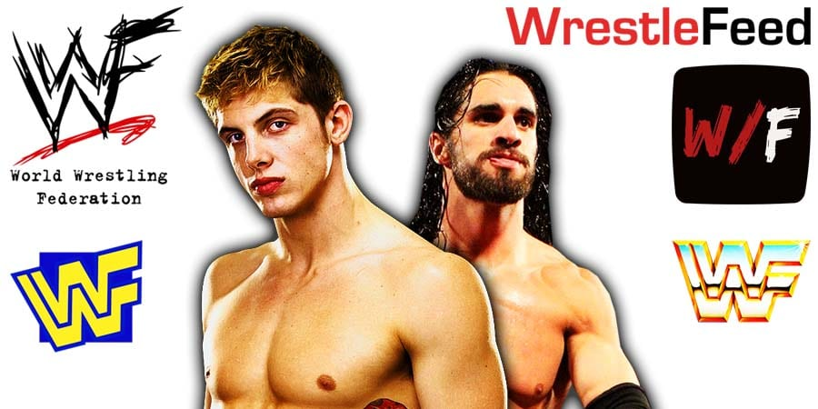 Matt Riddle vs Seth Rollins Article Pic 1 WrestleFeed App