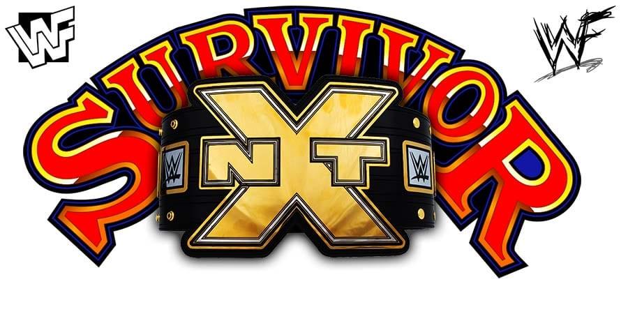 NXT Championship Title Match WWE Survivor Series
