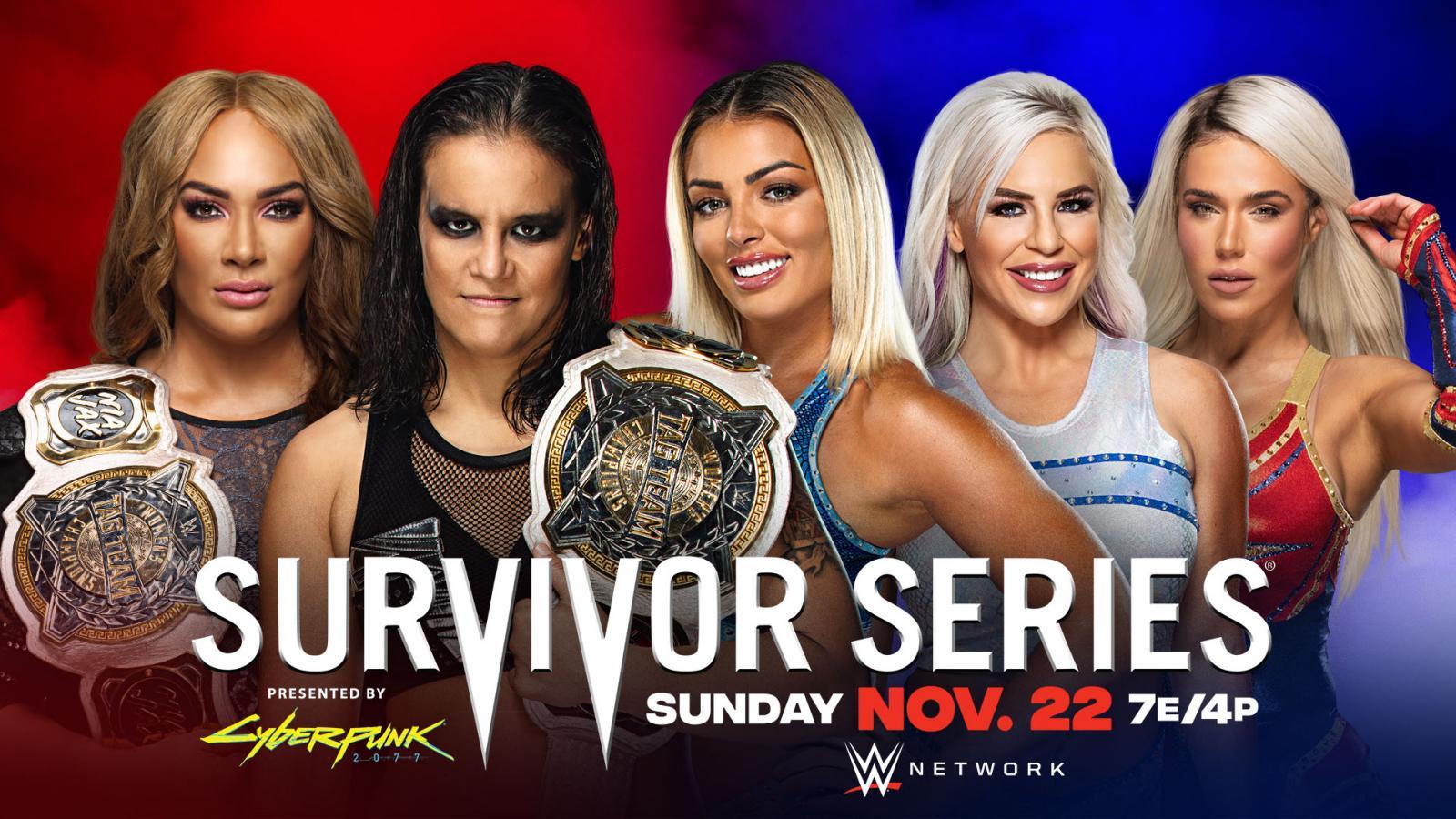 RAW's Women's Survivor Series 2020 Team