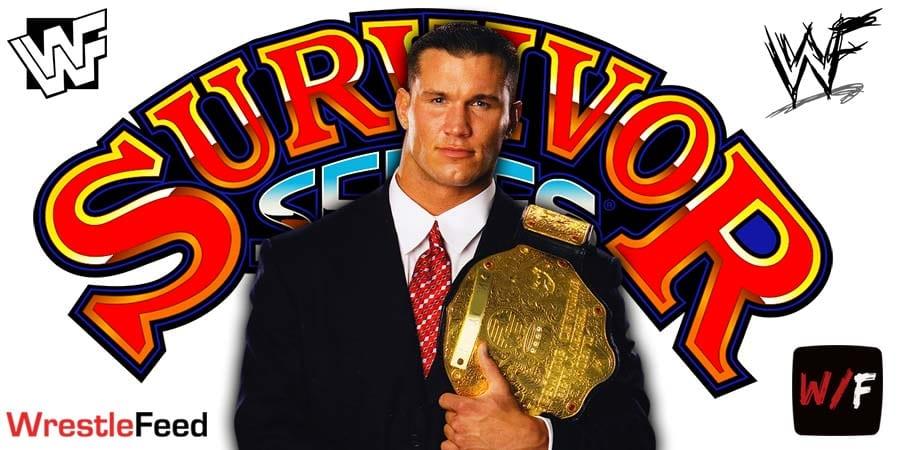 Randy Orton Champion WWE Survivor Series 2020 WrestleFeed App