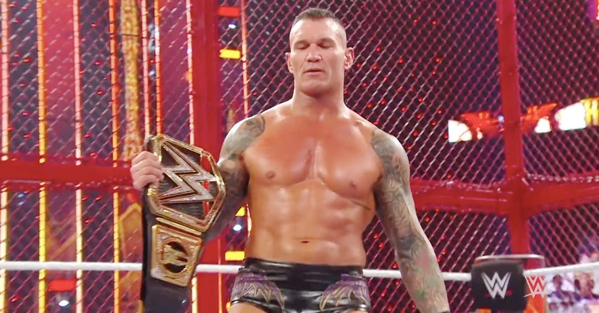 Randy Orton Wins WWE Championship At Hell In A Cell 2020