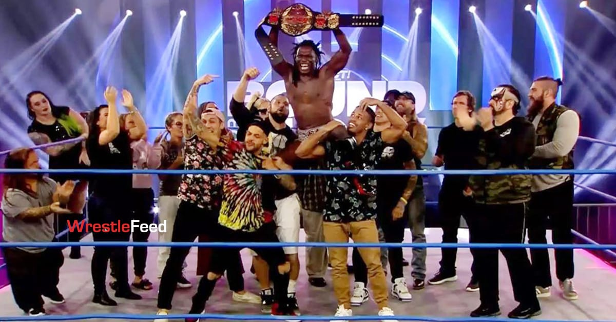 Rich Swann Wins Impact World Championship At Impact Wrestling Bound For Glory 2020 WrestleFeed App