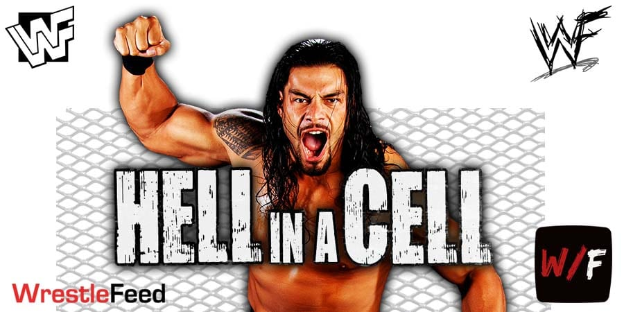 Roman Reigns WWE Hell In A Cell 2020 Pic 1 WrestleFeed App