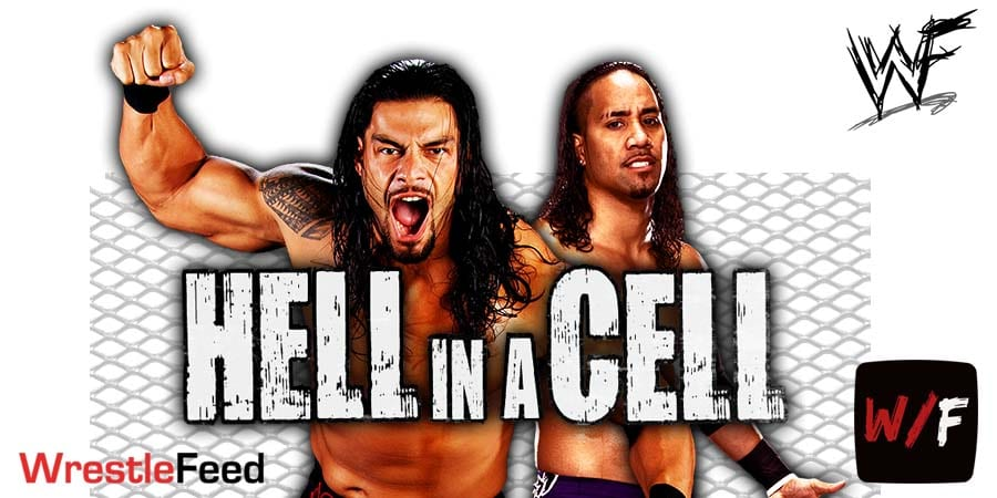 Roman Reigns vs Jey Uso WWE Hell In A Cell 2020 Article Pic