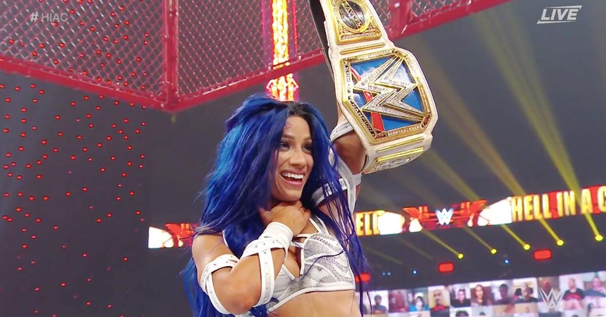 Sasha Sasha Banks Wins SmackDown Women's Championship At Hell In A Cell 2020 Wins SmackDown Women's Championship At Hell In A Cell 2020