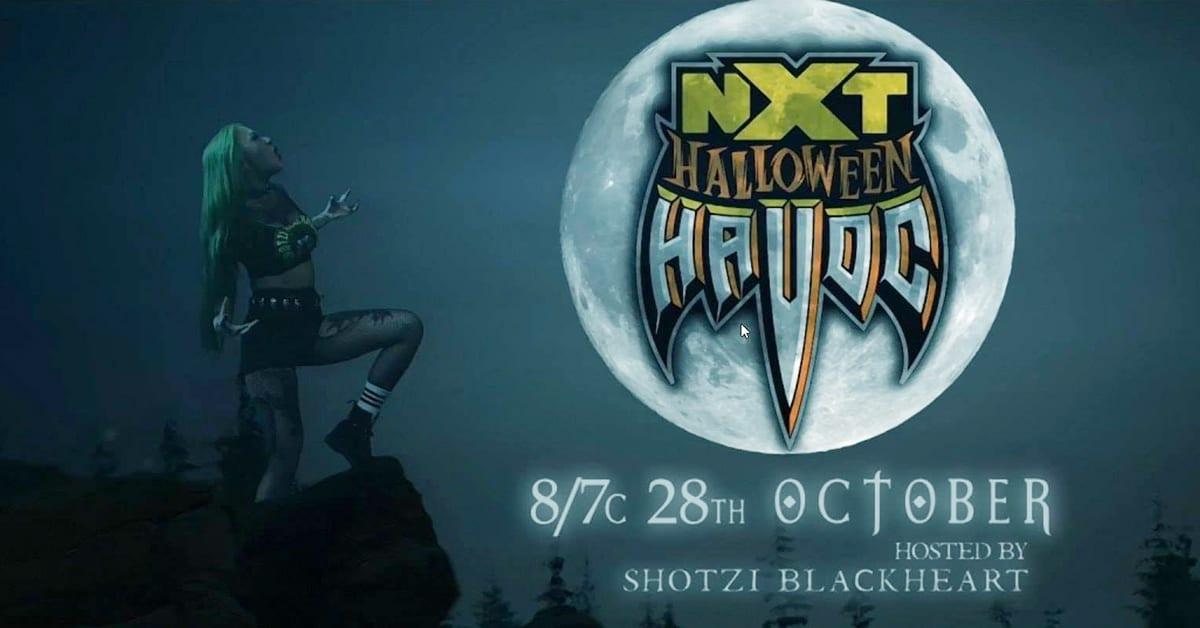 Shotzi Blackheart Host Of NXT Halloween Havoc 2020