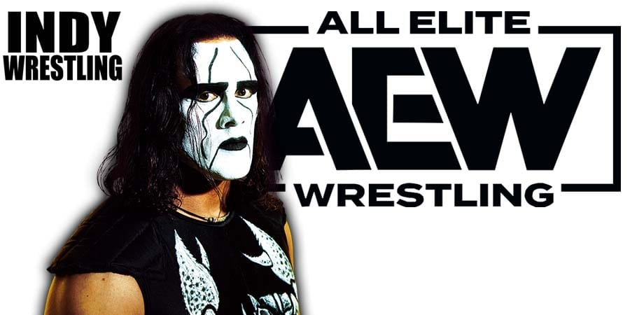 Sting AEW All Elite Wrestling Article Pic 2