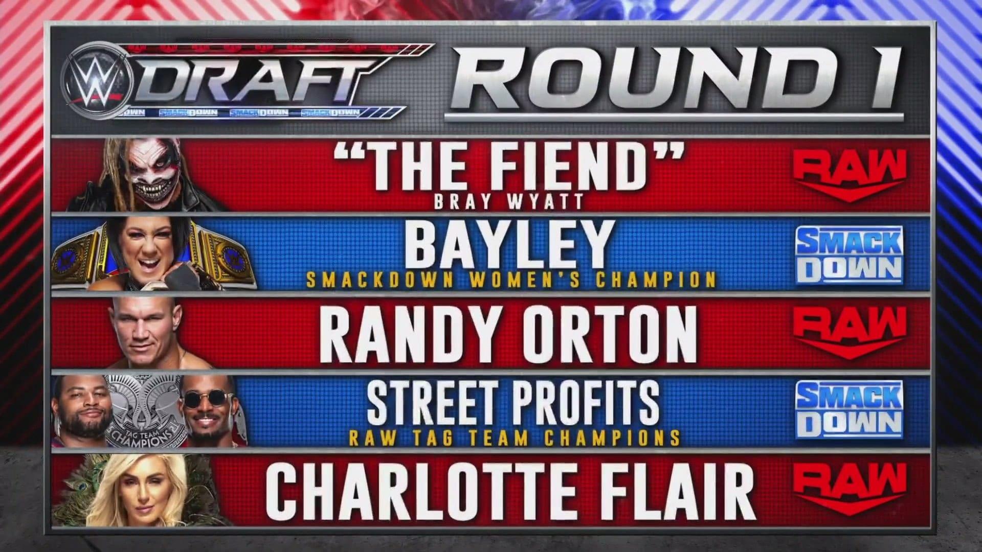 The Fiend Bray Wyatt Drafted To RAW